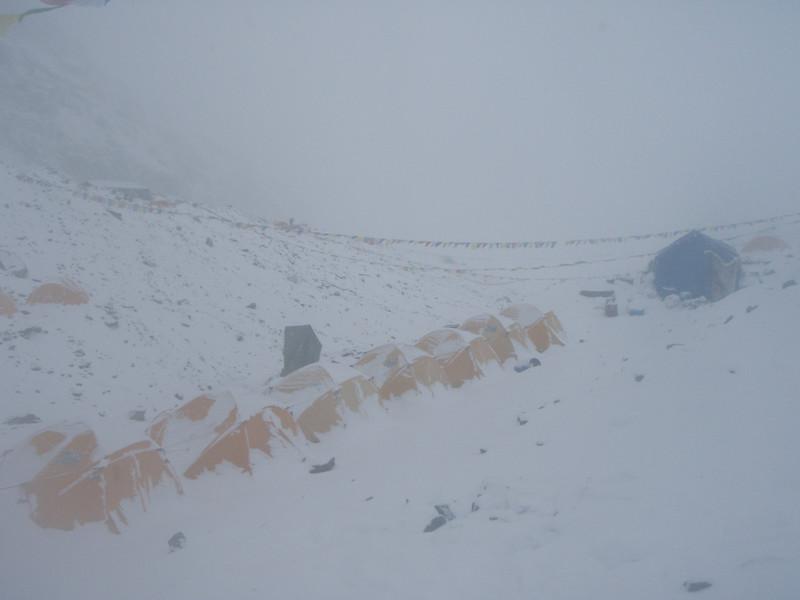 Sometimes we had heavy snow