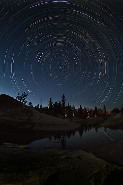 Star Trails over Utica