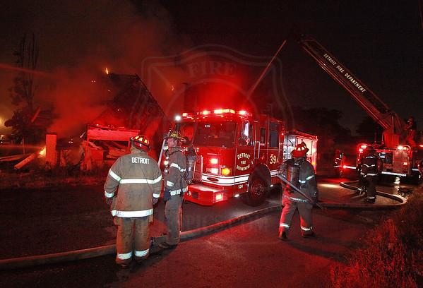 Detroit, MI - Box Alarm - Addison & Dennison - July 4, 2012