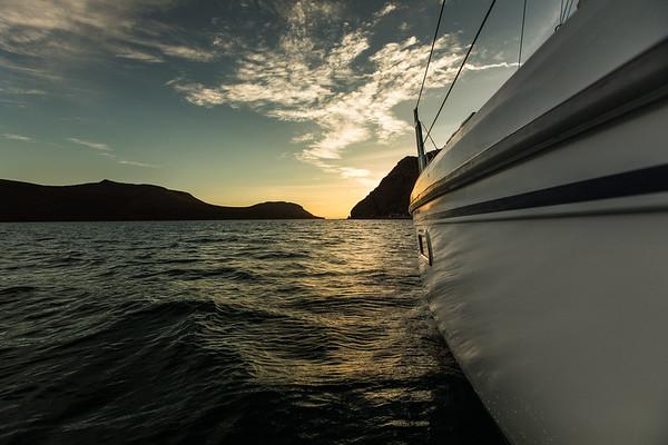 La Paz Sailing Class trip