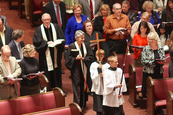 Confirmation Service - Fall, 2012