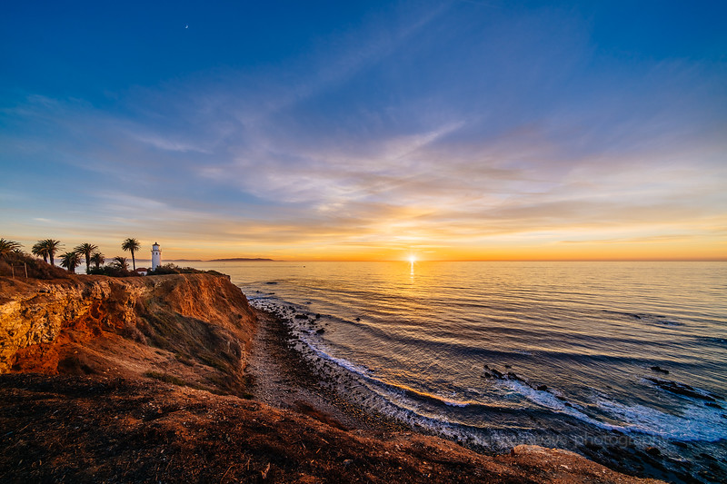 Sunset at Point Vicente