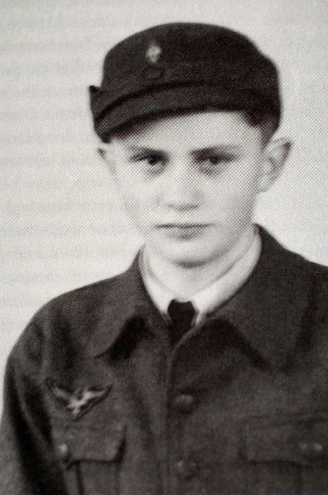 . A photo taken in 1943 during World War II shows Joseph Ratzinger as a German Air Force assistant. Pope Benedict XVI announced on February 11, 2013 he will resign as leader of the world\'s 1.1 billion Catholics on February 28 because his age prevented him from carrying out his duties -- an unprecedented move in the modern history of the Catholic Church. AFP PHOTO/KNA-BILD/AFP/Getty Images
