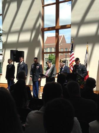 ROTC Ceremony 2016
