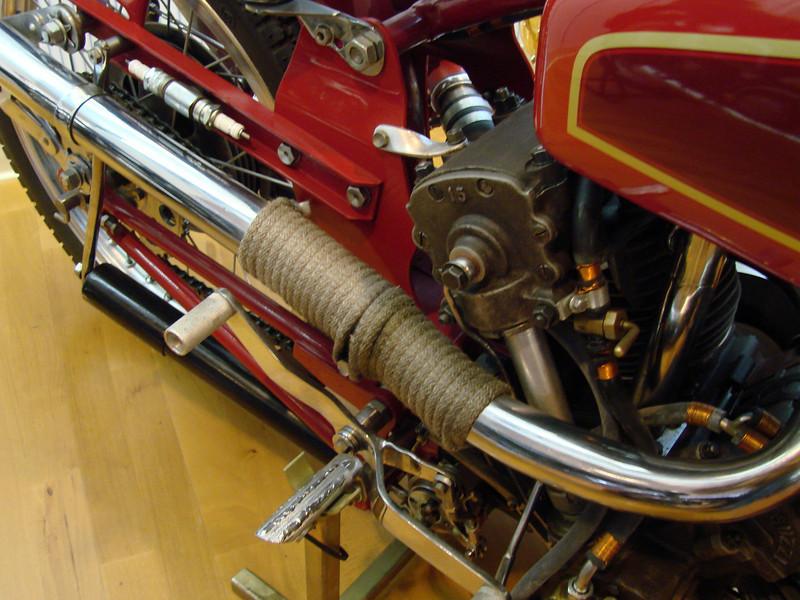 1947 Moto Guzzi Bicilindrica (twin) 500cc racer