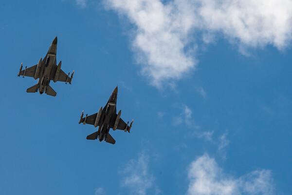 Colorado Air National Guard Covid-19 Flyover 5/15/2020