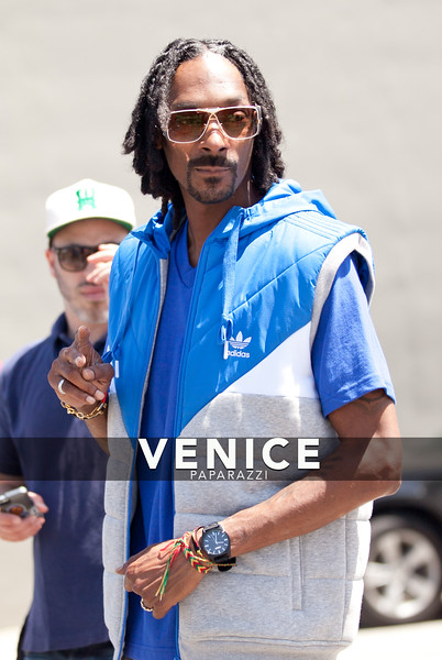 06.13.13 Snoop Dog -Adidas video shoot on the Venice Basketball Courts