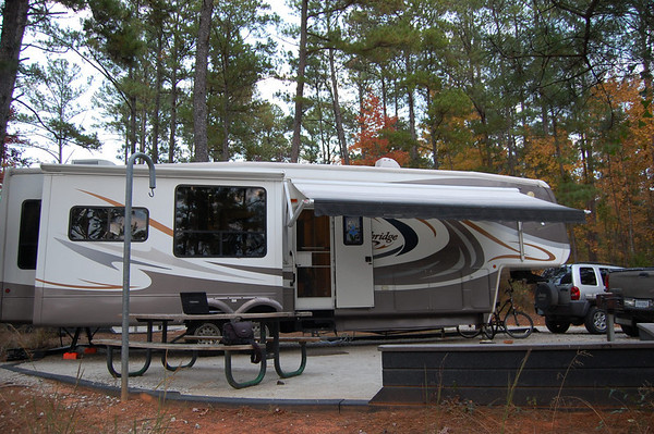 Journal Site 168: Modoc COE Campground, Modoc, SC - Nov. 22, 2010