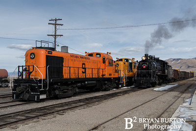 Nevada Northern Railway Friday Winter 2018