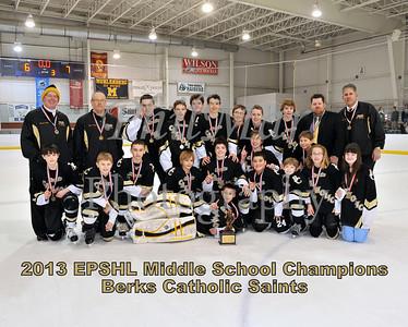 EPSHL Middle School Championship - Berks Catholic vs Schuylkill Valley/Hamburg