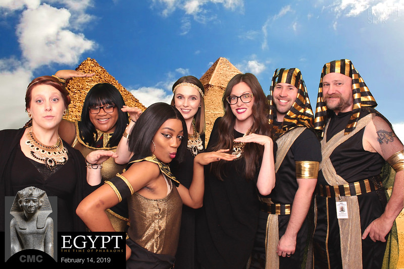 CMC Egypt Exhibit Preview Party 2019
