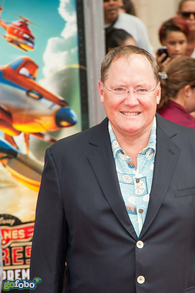 HOLLYWOOD, CA - JULY 15: Pixar chief creative officer John Lasseter attends the premiere of Disney's 'Planes: Fire & Rescue' at the El Capitan Theatre on Tuesday July 15, 2014 in Hollywood, California. (Photo by Tom Sorensen/Moovieboy Pictures)