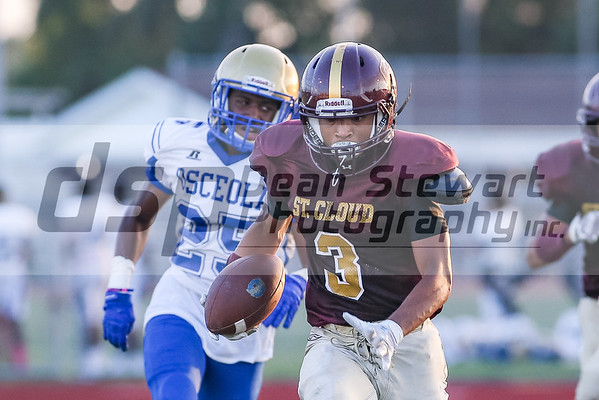 10-4-18 St Cloud Freshman Football vs Osceola