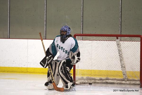 MatSu Ravens Vs. Chugiak E.R. 1-14-2011