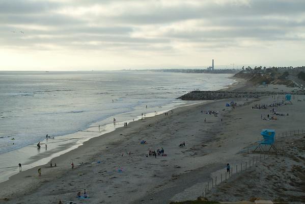 Ponto Beach Carlsbad from Leucadia 7-02-2014