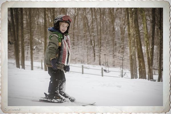 2013-02-19 - Adam na nartach w Jack Frost