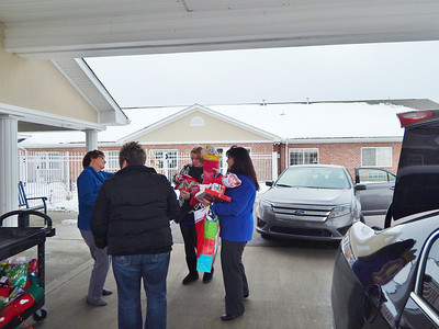 Aspen Place donates Stockings to Healthy Families