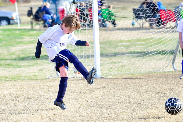Keaton's first soccer game 03-04-17