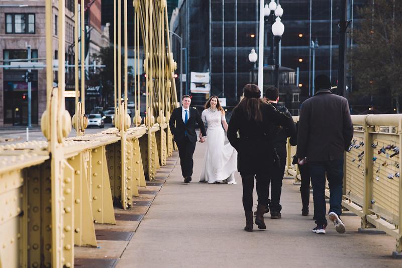Pittsburgh Elopement Photographer - Monaco Bridge Downtown - Hadley-196.jpg