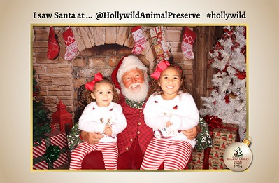 Hollywild Santa Photos - 120619