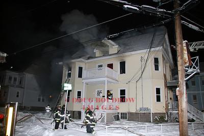 Malden, MA - 2nd Alarm, 1 Clapp Street, 12-22-07