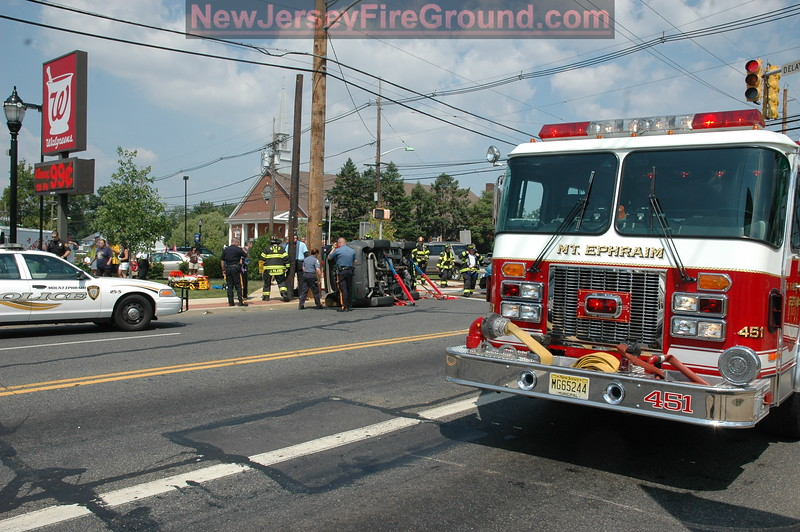 7-24-2010(Camden County)MT. EPHRAIM- Black Horse Pike-Kings Highway- M.V.A Rescue
