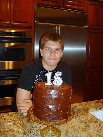 2009/08 - Tyler's Birthday