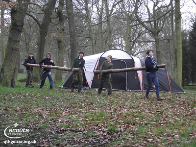 March - Pioneering Camp
