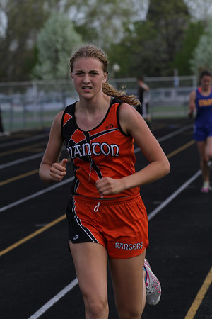 Cadillac News Meet Girls 800m Run