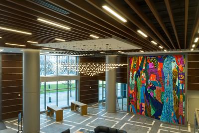 Deloitte Building Art Install