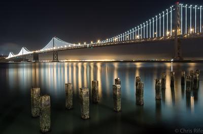 San Francisco at Night, Oct 2013