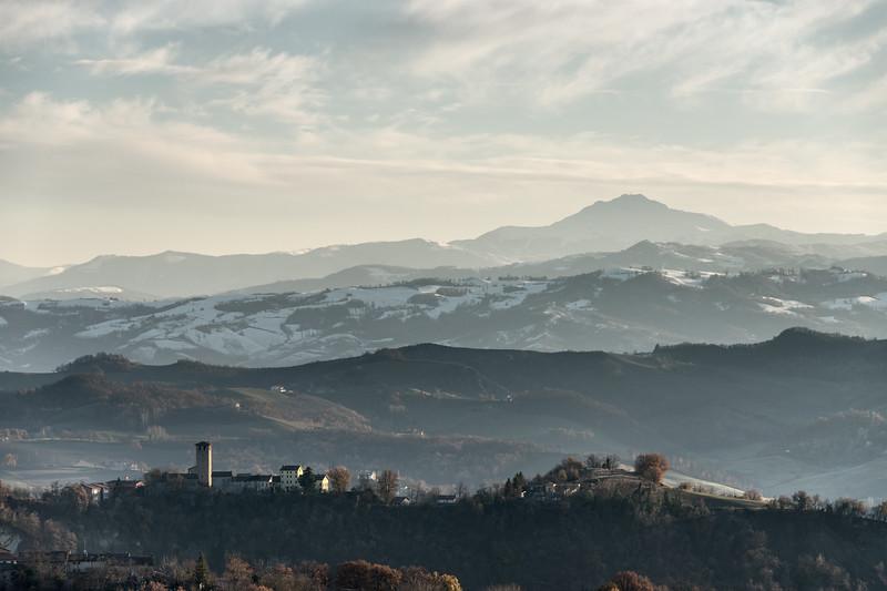 Montebabbio - Castellarano, Reggio Emilia, Italy - December 3, 2017