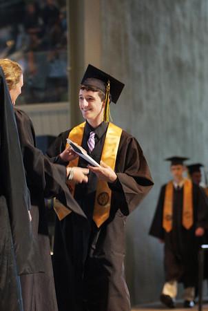 Traverse City Central High School graduation June 12, 2010