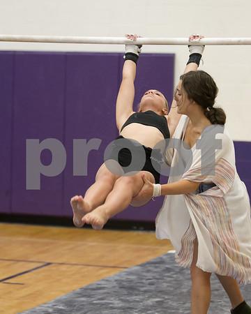 Gymnastics Practice 2017