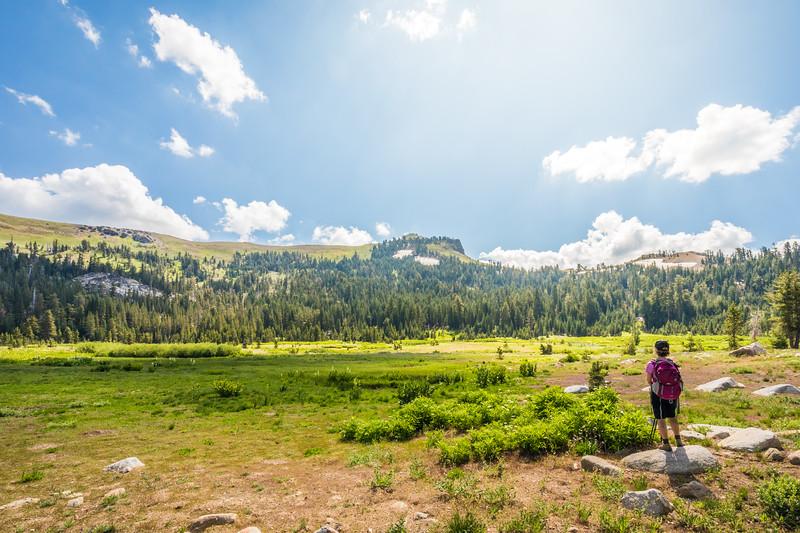 Castle Peak Truckee Hiker