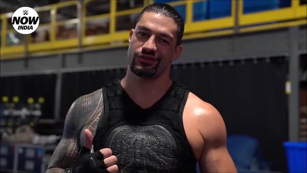 Roman Reigns - Screencaps WWE India Video (June 2019)