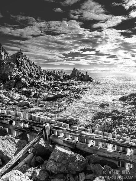Down to the Sea   Black and White Photography by Wayne Heim