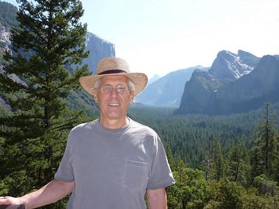 Pat and Mike in Yosemite