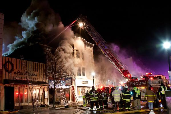 Rutherford NJ 3rd alarm, 19 Park Ave. 01-14-15