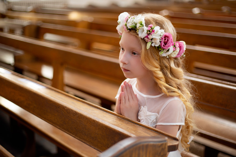 Lena's First Holy Communion 2018