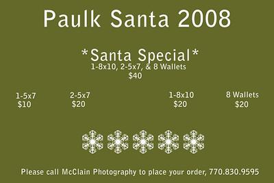 Paulk Santa 2008