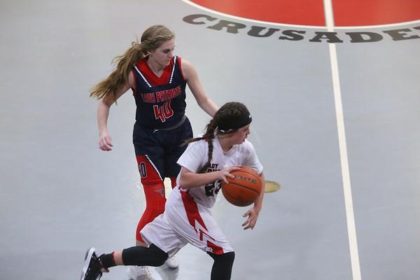 2021-01-22 Calvary Girls Basketball Game