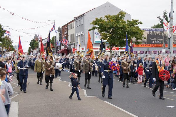 Vol. Brian Robinson Memorial Parade 06.09.14