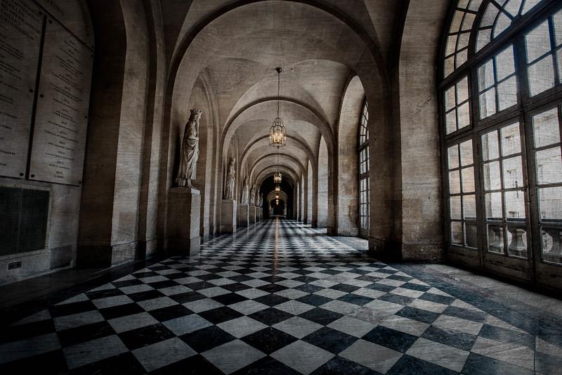 a hall at Versailles