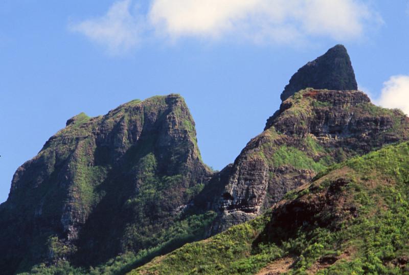 Gorilla Mountain from Behind