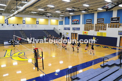 Girls Volleyball: James Wood at Loudoun County Conference 21 Championship 2013 (by Gary Sousa)
