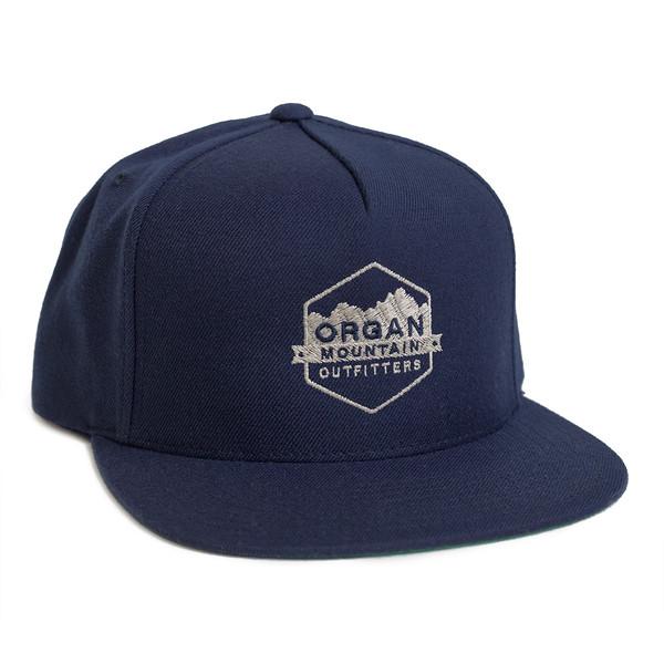 Outdoor Apparel - Organ Mountain Outfitters - Hat - Wool Blend Snapback - Navy.jpg