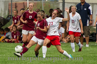 Soccer Girls SHS vs MVHS 8-16-2012