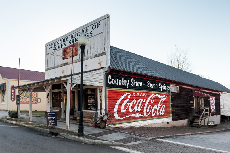 GA, Powder Springs - Coca-Cola Wall Sign