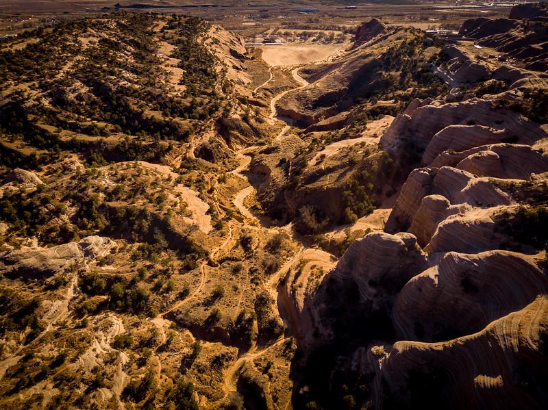 Drone - Feb 7, 2021 -- Churchrock, East of Gallup